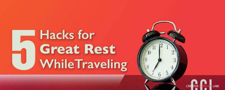 sleep hacks for traveling